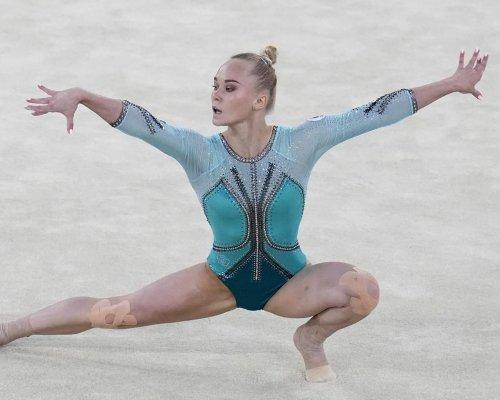 Melnikova wins all-around final at gymnastics worlds