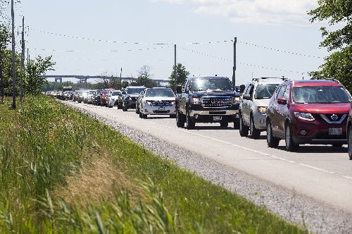 Sharp increase of GTA traffic entering Niagara-on-the-Lake during provincial stay-at-home order