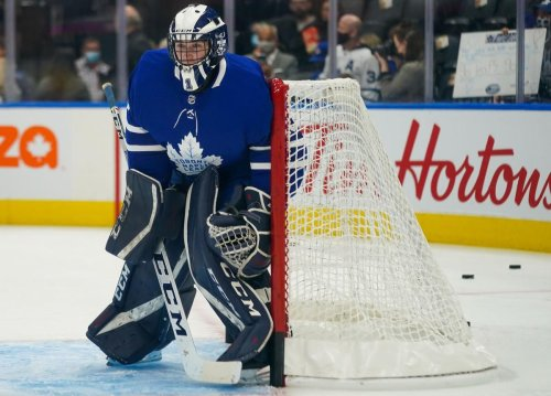 'It was pretty wicked.' U of T goalie Alex Bishop has a night to remember as a Leaf