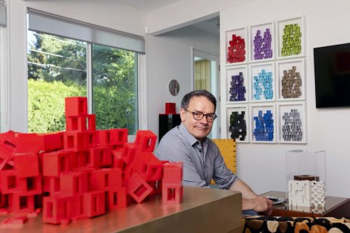 This Toronto businessman turned to Lego to combat stress. Now he owns one million pieces