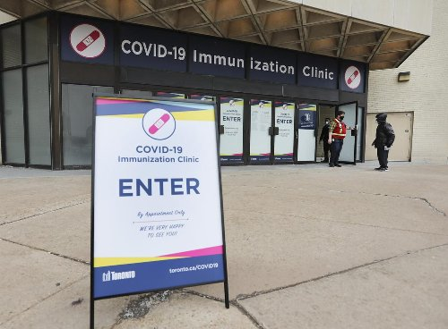 Toronto opening tens of thousands of new appointments for Moderna vaccines for next week