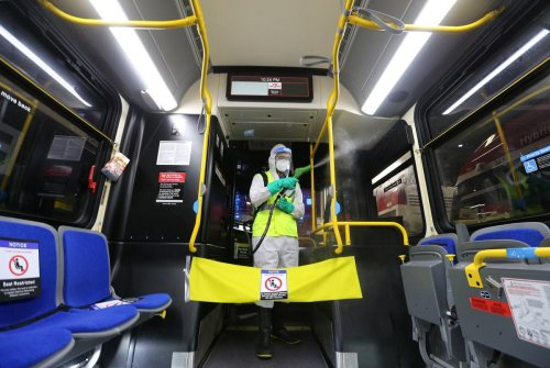 TTC disinfects its buses frequently to fight COVID-19. But the agency's own data shows the cleaning might be making things worse