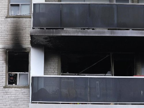 Photos: Investigations continue into fires at Quality Inn, Brock Towers in Peterborough