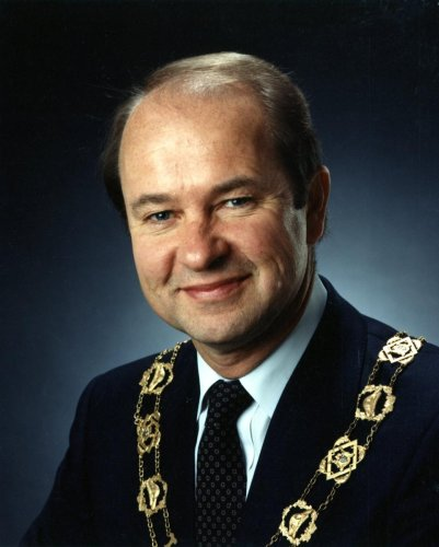 Former Waterloo mayor Brian Turnbull left 'an indelible mark' on the city he served