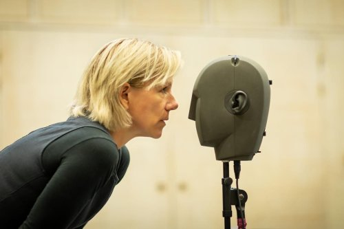The technology in sound installation 'Blindness' is so 'amazing' even its star Juliet Stevenson got carried away