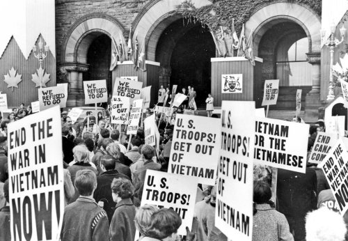 Hippies? Traitors? Vietnam War resisters who came north to Canada met plenty of resistance of their own