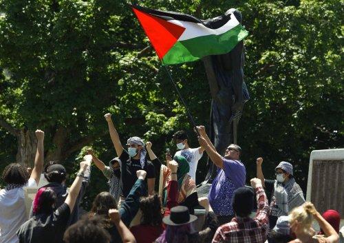 Photos: Free Palestine rally held in Peterborough