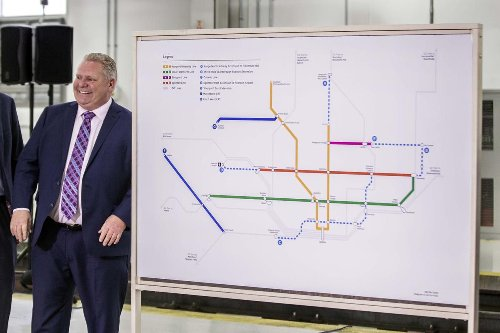 Federal government to fund Doug Ford's Toronto transit plans: Sources