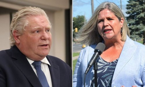 Doug Ford pressed to order mandatory COVID-19 vaccinations for school and health-care workers as Andrea Horwath flip-flops