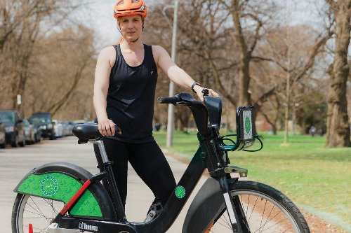 How a desperate desire to avoid 'ossifying in bed' during the pandemic turned one woman into a cyclist