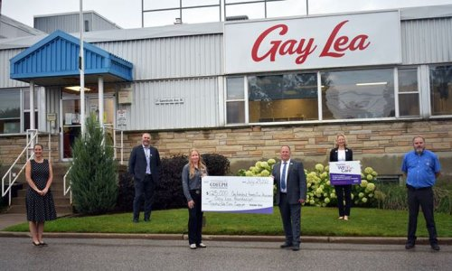 Cheque it out: Gay Lea Foundation gives gift to Guelph General Hospital