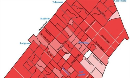 COVID-19 MAP: Almost every Brampton neighbourhood is a hot spot in Peel Region's April 9 update