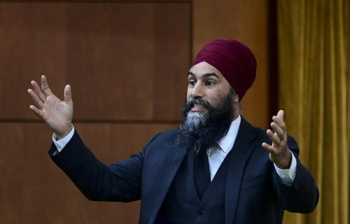 Jagmeet Singh 'very encouraged' that Liberals willing to make changes to their climate accountability legislation