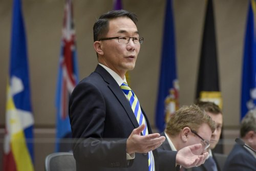 He won't resign, despite revelations he once inappropriately touched a teenager. Is Calgary stuck with this councillor?