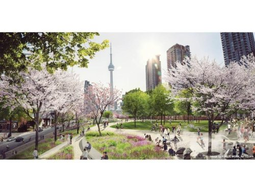 Opinion | Toronto's Rail Deck Park was an epic fantasy built on thin air. But the reality is far different