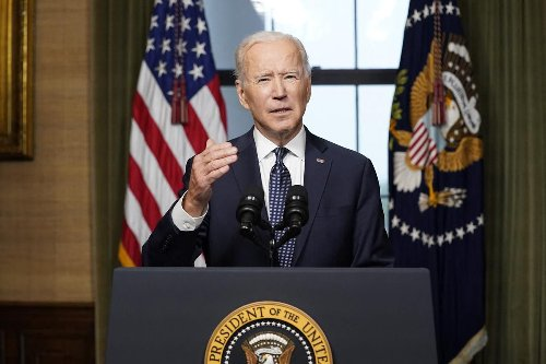 Opinion | Joe Biden is on track for the most impressive first 100 days of a U.S. presidency. The contrast should make Liberals blush