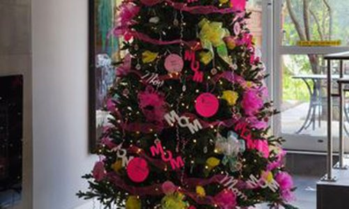 'What's next?': Condo residents relaying Christmas spirit in monthly tree transformation