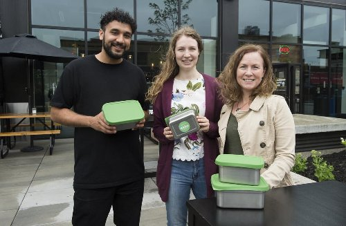 'Let's make reuse the new norm' — Ekko puts takeout dinners in reusable containers