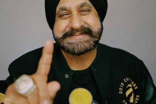 Raptors Superfan Nav Bhatia shows his basketball collection and explains why he's giving it away