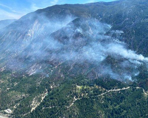 Wildfire near Lytton, B.C., grows, evacuation alert remains in effect