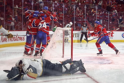Watch: Montreal Canadiens advance to Stanley Cup final after Lehkonen's overtime winner