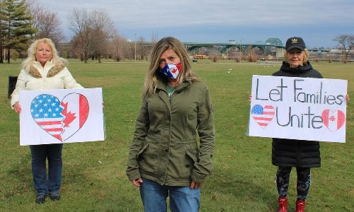 Canada-U.S. families split by COVID-19 push for easing of border crossing restrictions for loved ones