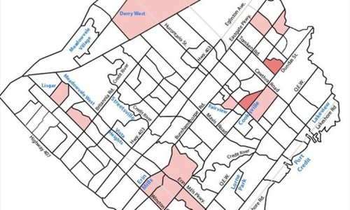 COVID-19 MAP: Very few hot spots remain in Mississauga in region's June 18 update