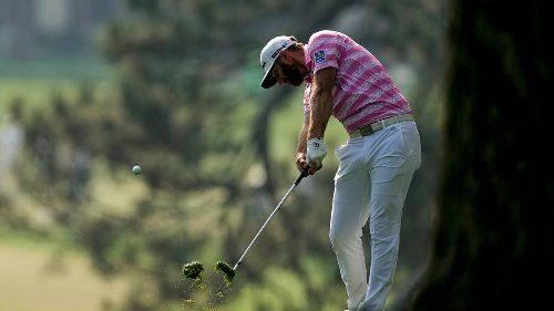 Dustin Johnson gets off to slow start in Masters title defense
