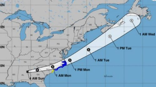 Flash flood watch issued for the Midlands as Claudette tracks across the area