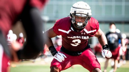 In his first spring practices, Jordan Burch has made 'really, really big strides'