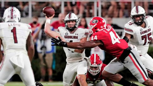 The early entrance was unexpected, but QB Luke Doty finds rhythm late against Georgia