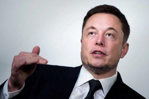 Elon Musk unveils Tesla's new electric motor