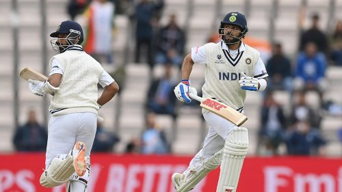 WTC final: India reach 146/3 as poor light ends Day 2 early - The Statesman
