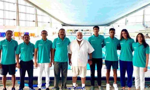 Belgrade swimming: Indians win 3 gold, all miss Olympic qualification - The Statesman