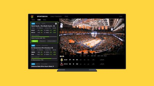 Sling TV Launches Exclusive Sports Betting Channel with DraftKings
