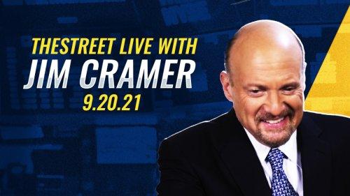 Watch Live: Jim Cramer on the Market Selloff, Evergrande, Debt Ceiling, Fed, Pfizer