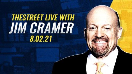 Live: Jim Cramer on Infrastructure, Zoom, Square, Parker-Hannifin