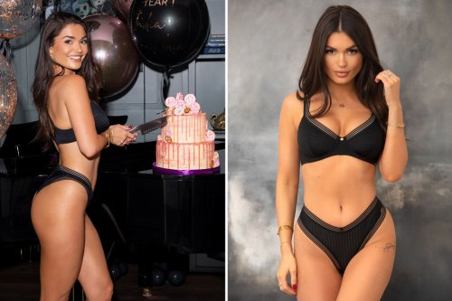Ex-Love Island star India Reynolds stuns as she shows off new lingerie range