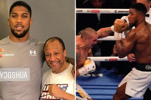 AJ tells Tyson's old coach Ronnie Shields to turn him into DOG for Usyk rematch
