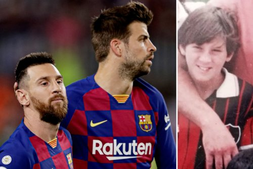 Pique says Messi was so small Barcelona told academy kids not to 'go in hard'