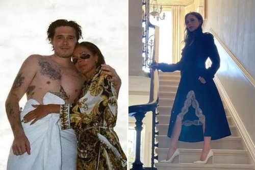 Victoria Beckham gives rare glimpse inside £31m home as she models chic outfit