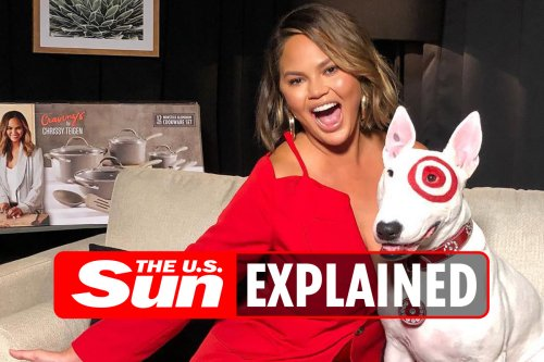 Why did Target stop selling Chrissy Teigen's cookware line?