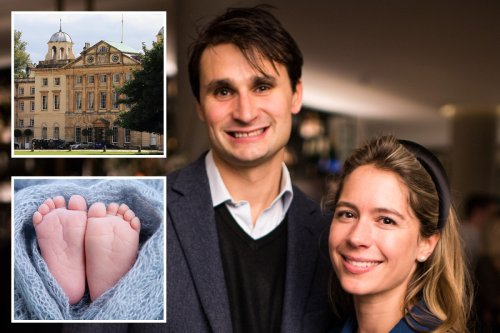 Baby boy 'worth £315m' is born and becomes heir to estate with 40-bed mansion