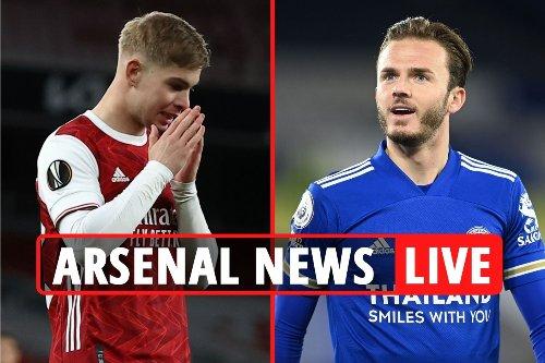 Arsenal have £12m bid REJECTED for Lokonga, Gunners make Van De Beek contact