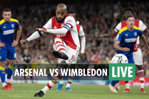 Arsenal vs AFC Wimbledon LIVE: Latest updates from Carabao Cup match