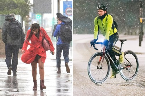 Ten days of rainstorms from today with Arctic blast & snow on the way