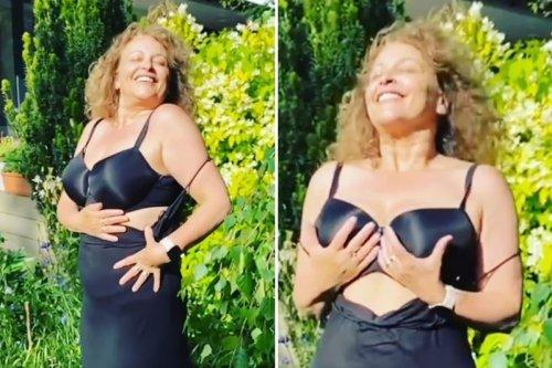 Loose Women's Nadia Sawalha praises new bra for giving 'tired t**s' more shape