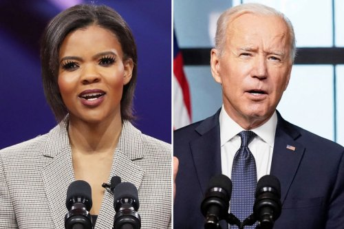 Candace Owens says Biden is downplaying 'Antifa' after rioters burn Apple store