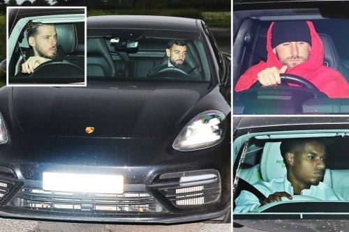 Glum Man Utd flops arrive at training for talks as Solskjaer clings to job