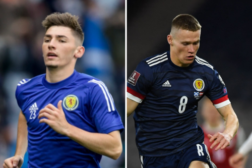 'Leaked' Scotland team emerges ahead of England game with Billy Gilmour starting